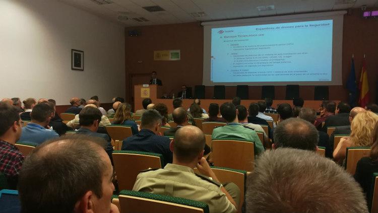 El IFN-GV participa en las III jornadas SecuDrone