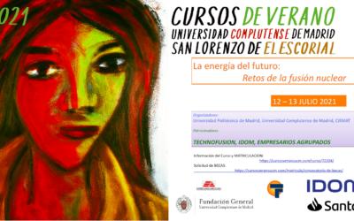 Curso de Verano 'La Energía del Futuro: Retos de la Fusión Nuclear'